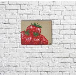"""Tabeau """"les fraises..."""