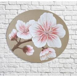 peinture fleurs de cerisier