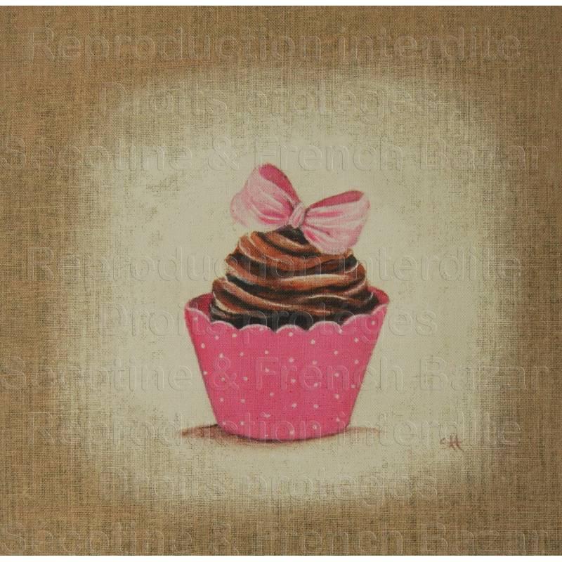 tissu cup cake