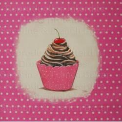 cup cake rose