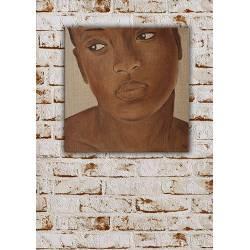 tableau femme africaine