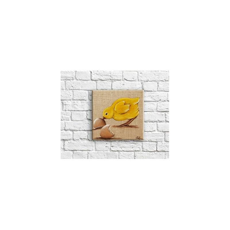 Tableau Poussin Décoration Mural De Cuisine