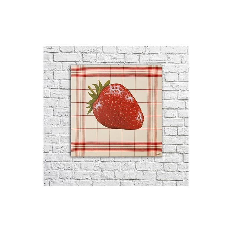 tableau fraise