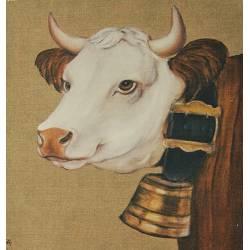 tissu vache