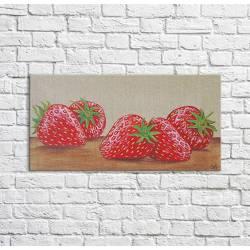 tableau fraises