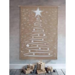 peinture sapin de Noël